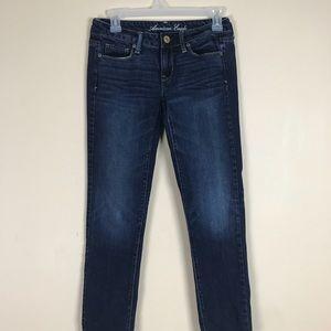 AMERICAN EAGLE Skinny Jeans Sz. 0